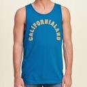 HOLLISTER by Abercrombie Koszulka Tank T-shirt S Kolor niebieski żółty, złoty