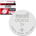 1 x bateria litowa MAXELL 3V CR 2032 3V -- SZYBKO