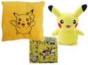 Maskotka Pikachu Zegarek Pokemon Poduszka Pokeball