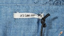 LEE koszula damska JEANS longsleeve BLUE _ XS r34 Dekolt kołnierzyk