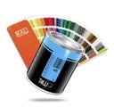 T4W lakier specjalny RAL 3243 akryl