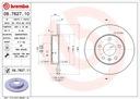 Tarcze Klocki Przód+Tył BREMBO OPEL ASTRA H 308mm Producent części Brembo