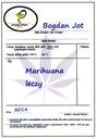MARIHUANA LECZY  _ Bogdan Jot _ szybka wysyłka !!!