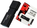 NOWOSC !! 64GB KINGSTON PENDRIVE DT100 G3 70Mb/s !