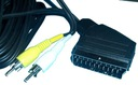 KABEL EURO (SCART) -  2RCA (CINCH) OUT 5m (0743)