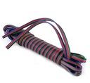 Kabel 4 żyłowy RGB 4x0,2mm2 do taśma kontroler led