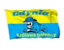 Флаг Гдыня Королева Севера 150x90 Болельщик Польша доставка товаров из Польши и Allegro на русском