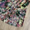 Szyfonowa asymetryczna kolorowa sukienka XS 34 Marka Atmosphere