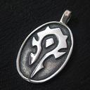 World of Warcraft - Symbol Hordy (srebro)