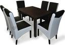Zestaw do jadalni 6 os krzesło KONRAD + stół LARGO