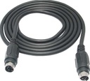Kabel wtyk SVHS 4p / wtyk S-VIDEO 4pin 10m (2707)