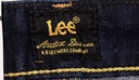 LEE spódniczka blue jeans PENCIL SKIRT_ W27 Kolor niebieski