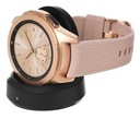 Smartwatch Samsung Galaxy Watch SM-R810 Rose Gold Materiał koperty stal