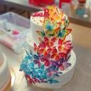 Вырезанные бабочки ВАФЕЛЬНЫЕ цветные бабочки микс 10шт