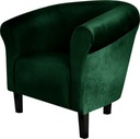 Кресло клубный Monaco плюш Бутылку Зелень Pub ???