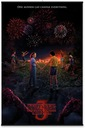 Stranger Things One Summer - плакат 61x91,5 см