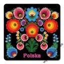 MAGNETKA (013) Polska Folklor Wycinanka Łowicka