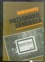 POŻEGNANIE GENERAŁA Dokumenty Władysław Sikorski