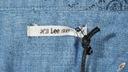 LEE koszula damska JEANS longsleeve BLUE _ S r36 Dekolt kołnierzyk