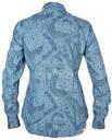 LEE koszula damska JEANS longsleeve BLUE _ XS r34 Kolor niebieski