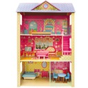 OGROMNY drewniany domek dla lalek okazja 246