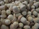 Korek naturalny grzybek drewniana główka do butelk