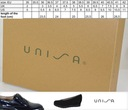 Unisa Jolie Pa Black Patent czółenka 37 Wysokość obcasa/platformy 4 cm