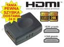ADAPTER HDMI - HDMI f/f złączka typ BECZKA