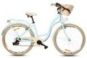 Damski rower miejski 28 ALU lekki SHIMANO 7 kosz Rozmiar ramy 18 cali