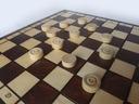 SZACHY+WARCABY drewniane we WKŁ 34x34 - PRODUCENT Minimalna liczba graczy 2