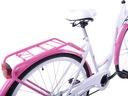 Rower miejski 26 damski damka KOZBIKE K19 z koszem Rozmiar ramy 18 cali