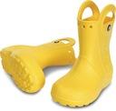 Kalosze Crocs Handle it rain boot żółte 33-34 (J2) Marka Crocs