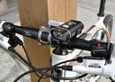 Zestaw LED tył przód XPG500 na USB lampka rowerowa Rodzaj zestaw
