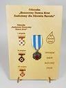 Ekspozytor NEW na odznaki zasłużonego HDK Oryginał oryginał