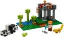 LEGO MINECRAFT Żłobek dla pand 21158 Płeć Chłopcy Dziewczynki