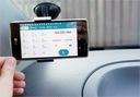 Uchwyt do auta szczęki szyba do telefonu HTC Flyer Waga produktu z opakowaniem jednostkowym 0.3 kg