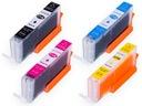 15x TUSZE do CANON PIXMA MG5700 MG5750 3X KPL XL Producent inny