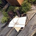 Duże Rustykalne Pudełko na KOPERTY + OBRĄCZKI mech Rodzaj pudełka