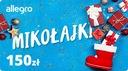 Karta Podarunkowa Mikołajki - 150 zł