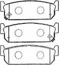kashiyama japan колодки тормозный зад infiniti q45 ii2