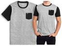 koszulka t-shirt HOLLISTER Abercrombie Logo USA L