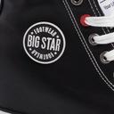 Trampki Big Star CZARNE na koturnie EE274615 EKO Oryginalne opakowanie producenta pudełko