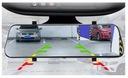 Wideorejestrator 9.66 CALA FullHD kamera cofania Zasilanie akumulatorowe gniazdo zapalniczki samochodowej