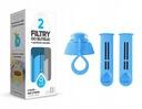 Фильтр для бутылки DAFI (2шт.) + гайка СИНИЙ доставка товаров из Польши и Allegro на русском