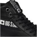 Big Star trampki damskie czarne EE274355 37 Wysokość wysokie