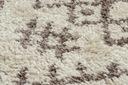 Dywan BOHO shaggy 80x150 frędzle krem #GR2822 Szerokość 80 cm