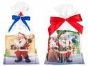Torebki foliowe świąteczne MIKOŁAJ 20x35 10szt NMP