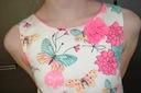 Elegancka letnia sukienka- roz. 134 Długość przed kolano