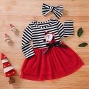 Sukienka świąteczna MIKOŁAJKA z opaska 92 PREZENT Płeć Dziewczynki