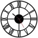 часы настенный винтаж loft РЕТРО ТИХИЙ 3D-40СМ W40